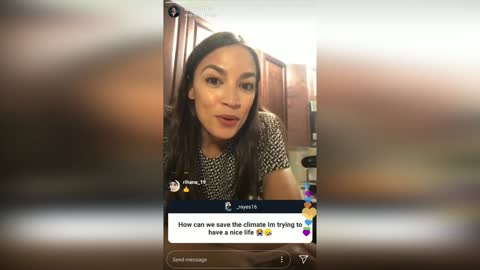 AOC Warns of Prehistoric Diseases and Death from Climate Change