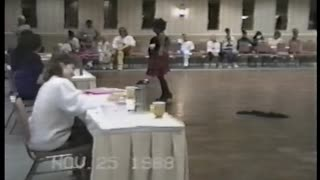 Competition Dancer Woman Loses Her Wig - Video