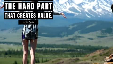 It's Always the Hard Part That Creates Value