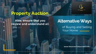 General Methods of Buying and Selling Your Home (Part 1 of 7)