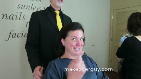 MAKEOVER: I Don't Want To Go Any Shorter, by Christopher Hopkins, The Makeover Guy®