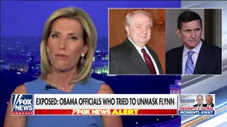 Laura Ingraham responds to release of unmasking list