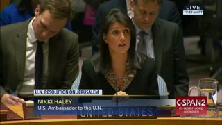 The United States will not be told by any country where we can put our embassy - Video