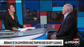 Brennan After Losing Clearance — I Didn't Really Say Trump Committed Treason - Video