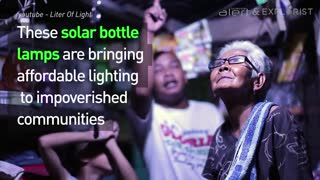 Solar Bottle Lamps - Video