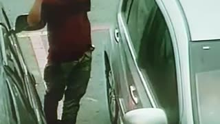 Car Robbery caught on Camera  - Video