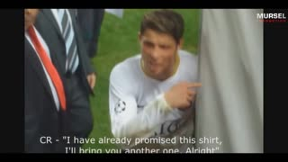 C.Ronaldo is a great person - Video