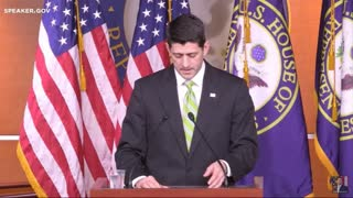 Paul Ryan Addresses The Nation About Failed Healthcare Bill - Video