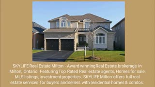 • Real estate agent Milton - Video