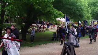 Scots Marching Scarborough Faire