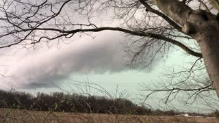 Beautiful Storm Clouds Rolling In - Video