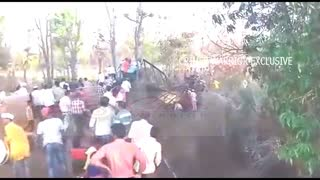 Ratnagiri : Live Bridge Collapse | Exclusive Mobile Clip - Video