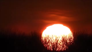 Sunset in Highspeed  - Video