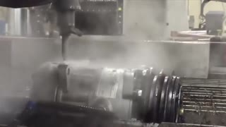 Waterjet cutting Incredible power of water - Video