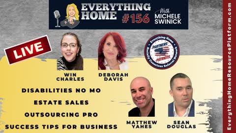 156 LIVE: Disabilities No Mo, Estate Sales, Outsourcing Pro, Business Success Tips + Dr. Simone Gold Video - Covid19 TRUTH