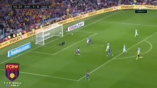 Gol de Iniesta vs Malaga - Video