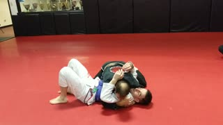 Armbar from Lapel Control