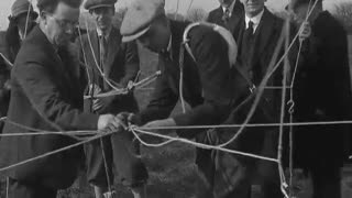 Strange 30s Balloon Jumping Film - Video
