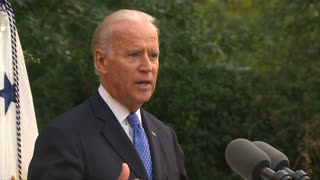 Biden thumps Trump for selling 'sick message' - Video
