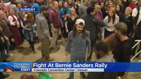 Fight breaks out at Sanders rally