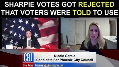 Sharpie Votes Got Rejected That Voters Were TOLD To Use!
