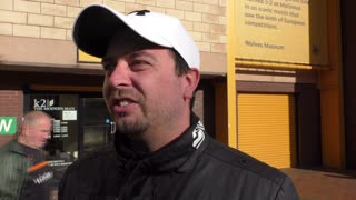 Wolves fans on 1-0 win over Millwall - Video