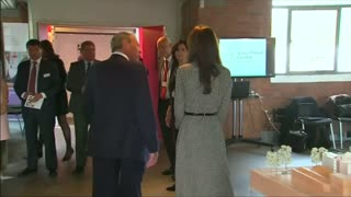Duchess of Cambridge returns to work - Video