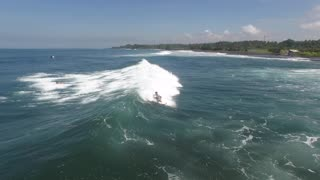 Riding the Waves on a Surf Dock