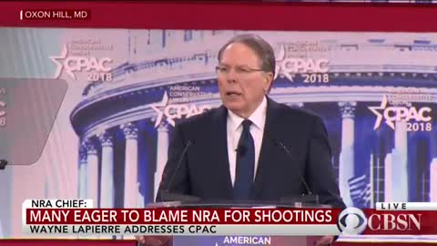 NRA's Wayne LaPierre Asks 'Do We Love Celebrities More Than Our Children' During CPAC Speech