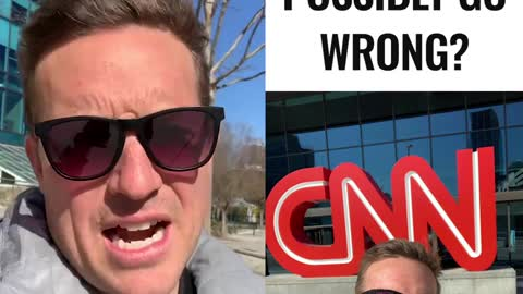 I'm At CNN Headquarters in Atlanta - What Could Go Wrong?