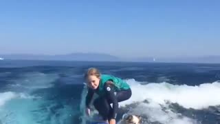 Lovely surfer member - Video