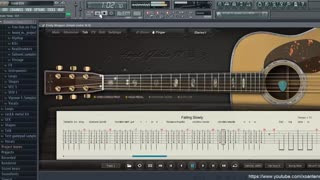 How to Play Tab in Ample Guitar on FL Studio - Video