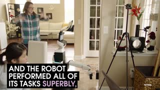A Robot That Helps Out Around The House - Video