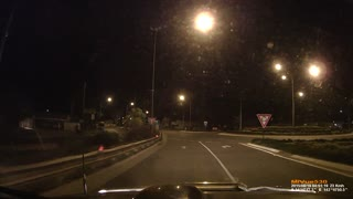 Kangaroo On The Highway - Video
