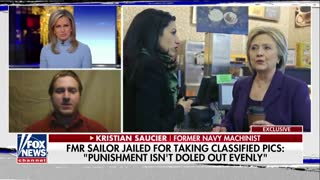 DOJ Showed 'Double Standard' by Favoring Clinton, Abedin, Says Former Navy Sailor - Video