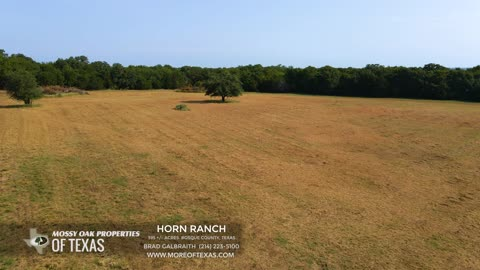HORN RANCH - 405 ACRES - BRAZOS RIVER - BOSQUE COUNTY, TEXAS