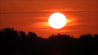 Awesome Manitoba Sunset  - Video