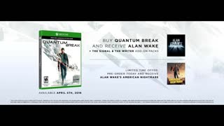 QUANTUM BREAK - Live Action Trailer (Xbox One) - Video
