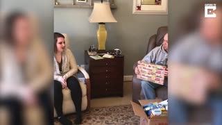 Stepdad Birthday Surprise Adoption - Video