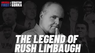 The legend of Rush Limbaugh. Sebastian Gorka with Alex Marlow