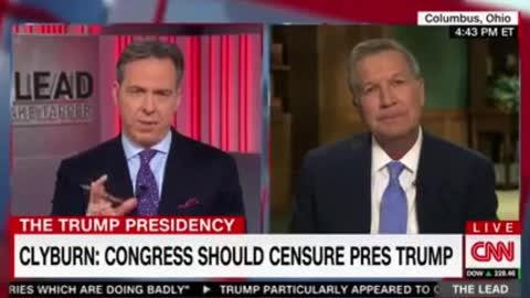 CNN's Coverage of Trump Is So Bad, Even Kasich Criticizes Them