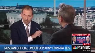 Chuck Todd Conducts Softball Interview - Video