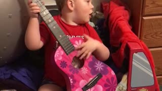 Toddler Boy Sings Beautiful Song For His Mom - Video