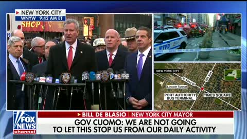 Authorities Hold Press Conference on NYC Attack: 'The Reality We Live With'