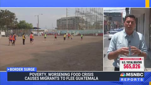 MSNBC Reports Migrants Leaving Their Countries for U.S. Because Of Climate Change