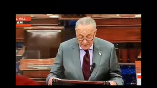 Schumer says Trump incited...errection?