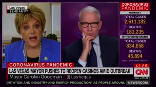 Cooper Has Tense Discussion With Las Vegas Mayor