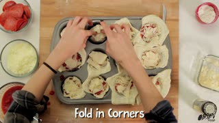 Homemade Pizza Pockets: Quick, Easy, Tasty - Video