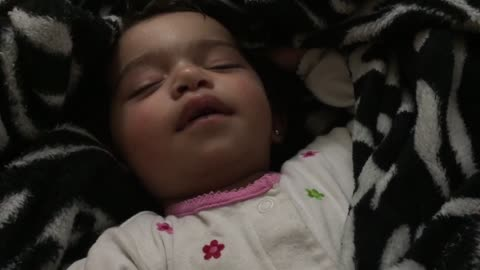 Most adorable way possible to wake a baby?