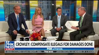 Stuart Varney says it's 'outrageous' for illegal immigrants to expect compensation - Video